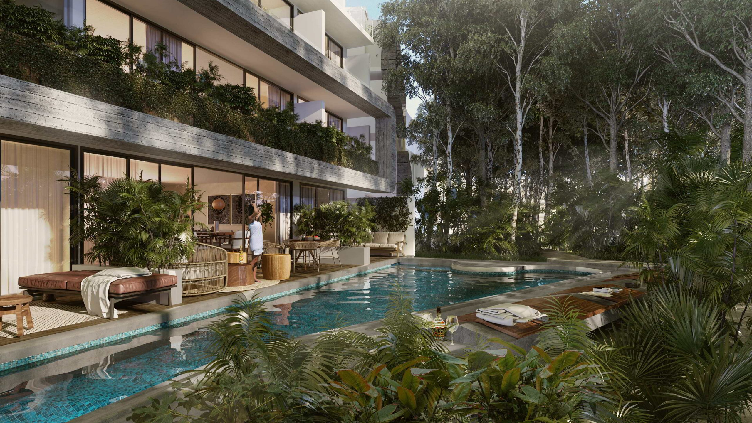 Luxurious properties in the Mayan Riviera